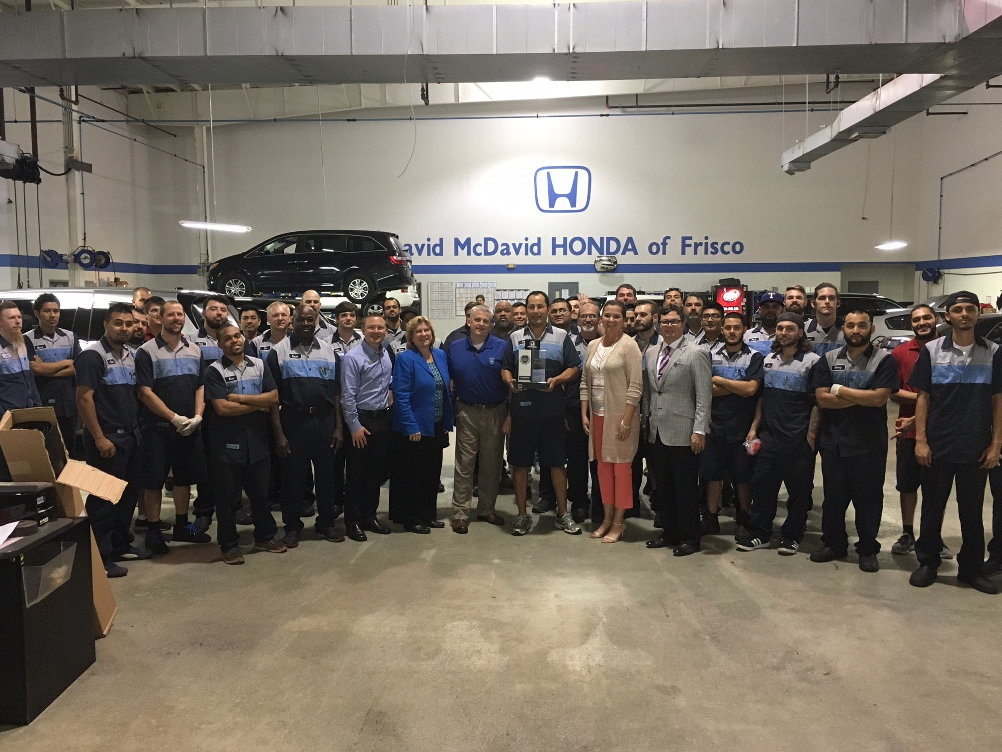 Congratulations To Our McDavid Honda Of Frisco Team And Dealership On  Achieving The ...