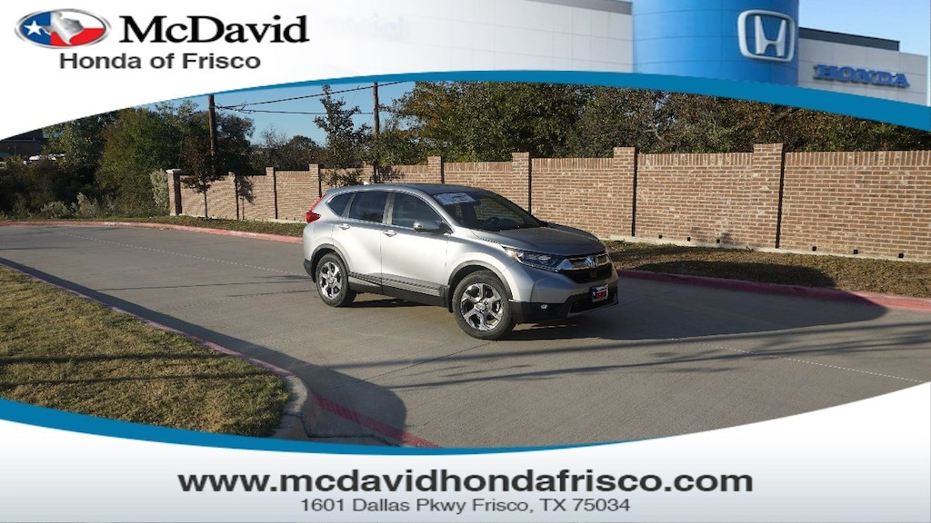 New 2019 Honda CR-V For Sale at David McDavid | VIN