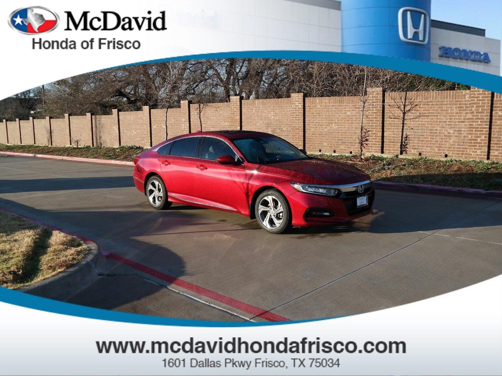 2018 Honda Accord EX EX 1.5T CVT