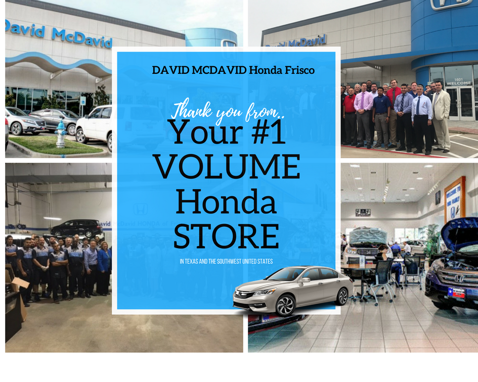 Our blog david mcdavid honda of frisco for Mcdavid honda frisco