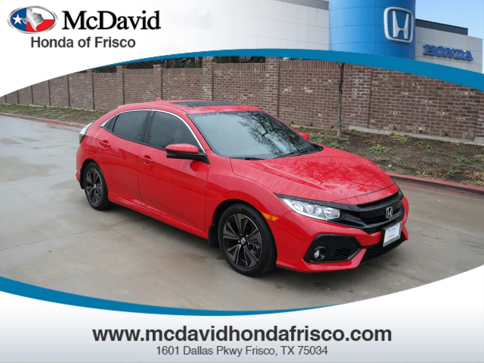 2017 Honda Civic EX-L w/Navi Hatchback