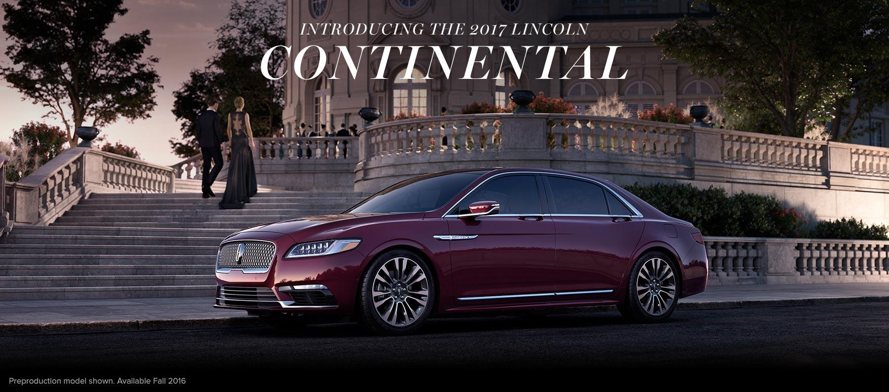 2017 Lincoln Continental Dallas Tx