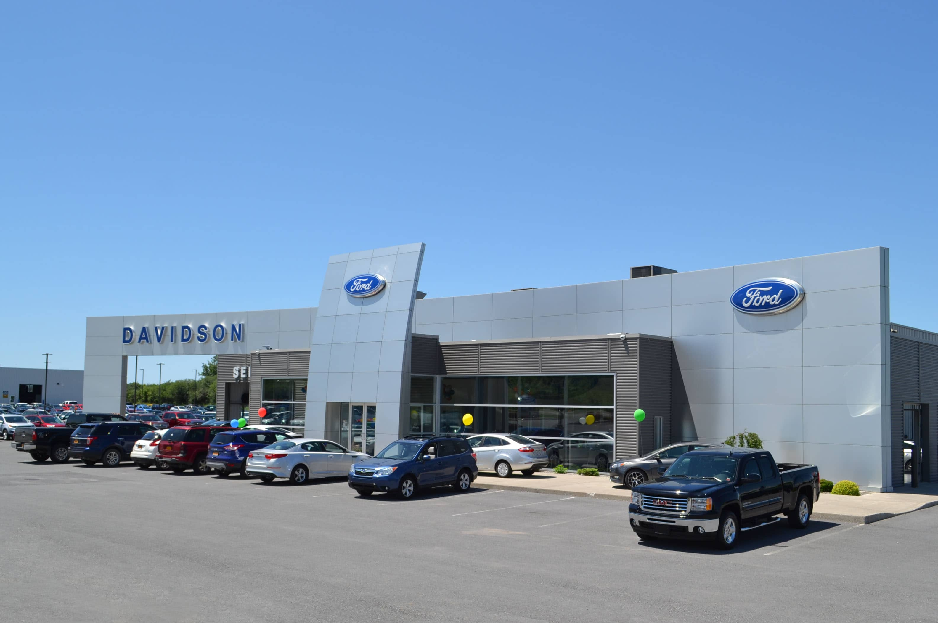 Used Car Dealerships Syracuse Ny >> About Davidson Ford in Watertown | New and Used Ford ...