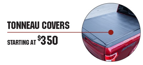 Tonneau Covers Starting At $350