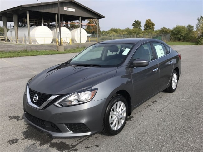 New 2019 Nissan Sentra SV Sedan 3N1AB7AP0KY224447 in Watertown, NY