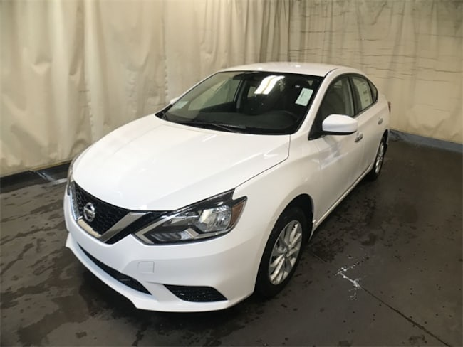New 2019 Nissan Sentra S Sedan 3N1AB7AP7KY246395 in Watertown, NY