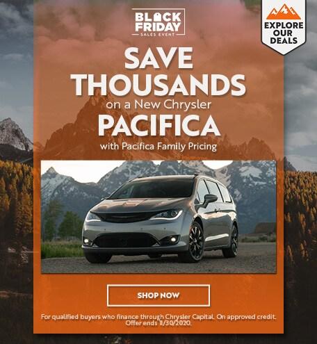 Chrysler Pacifica - November Offer