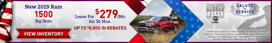 2019 Ram 1500 - May