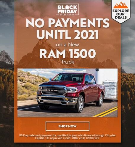 Ram 1500 - November Offer