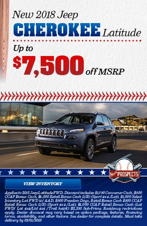 New Jeep Cherokee Latitude - April