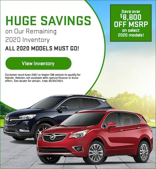 Huge Savings on Our Remaining 2020 Inventory