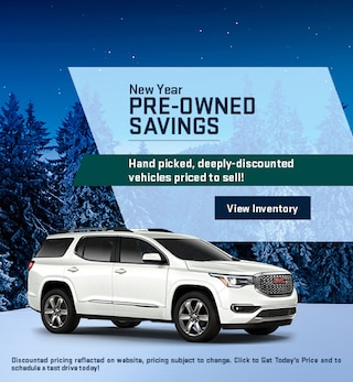 New Year Pre-Owned Savings