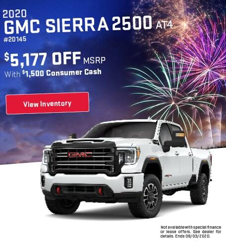 2020 GMC Sierra 2500 AT4