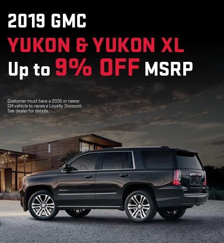 2019 GMC Yukon & Yukon XL