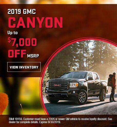 2019 GMC Canyon