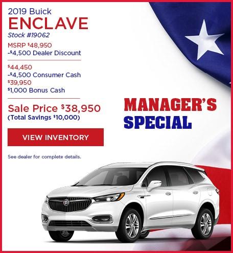 05-2019 Buick Enclave