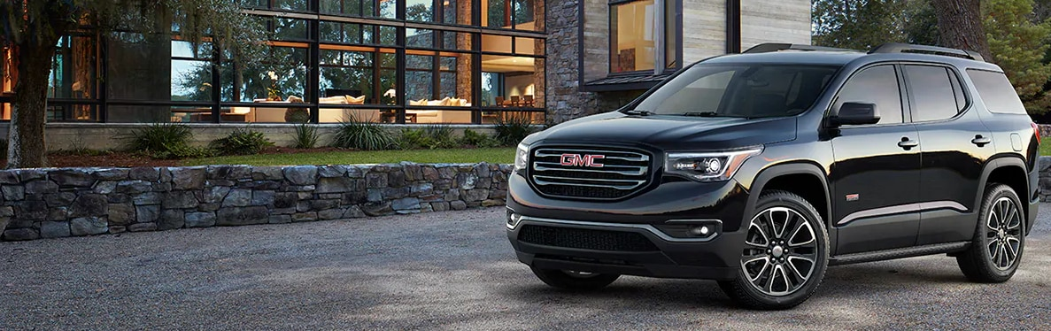 gmc acadia official site