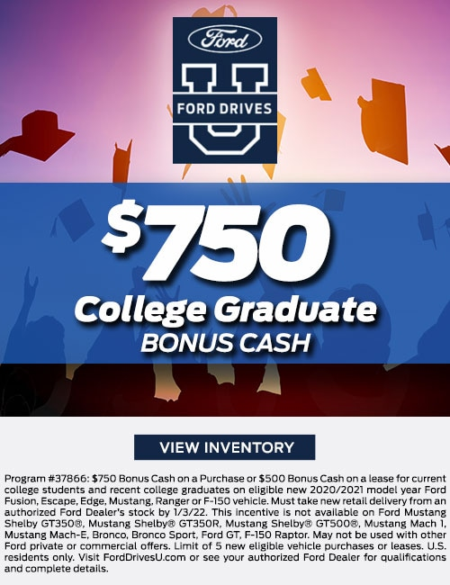 $750 College Graduate Special Offer