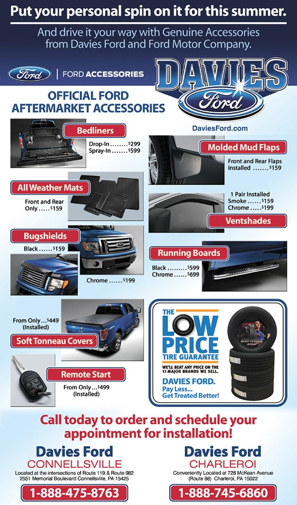 Ford Parts Specials | Davies Ford of Charleroi
