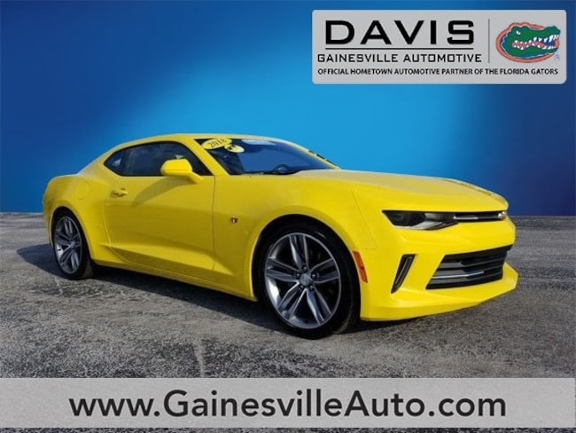 Used 2018 Chevrolet Camaro 1LT Coupe For Sale in Gainesville, FL
