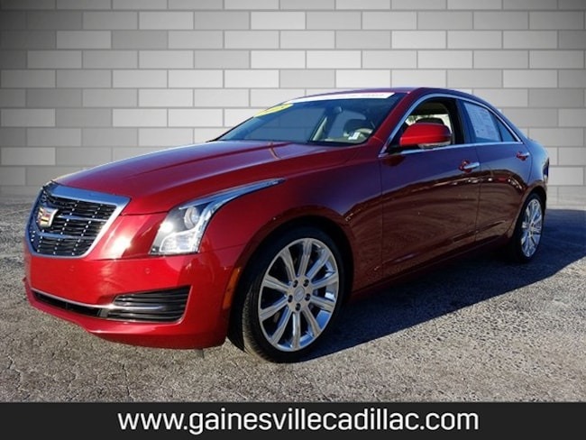 Certified 2015 Cadillac ATS 2.0L Turbo Luxury Sedan For Sale in Gainesville, FL