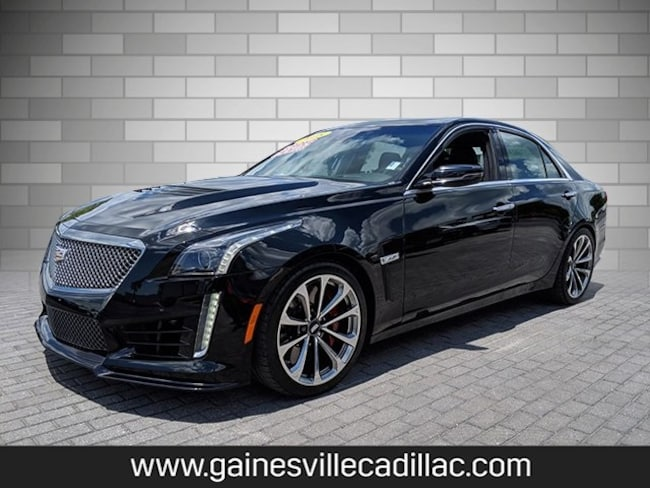 Certified 2018 Cadillac CTS-V Base Sedan For Sale in Gainesville, FL