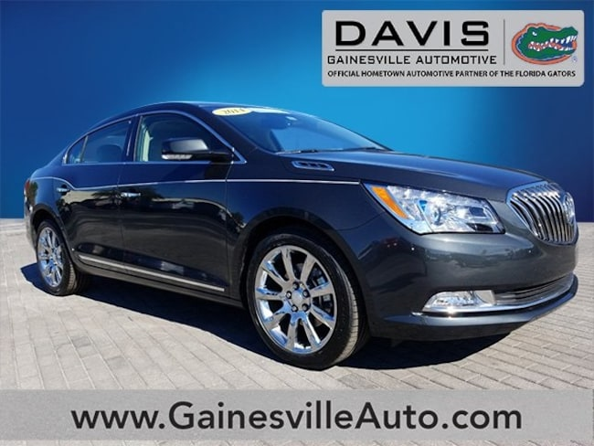 Used 2014 Buick Lacrosse Leather Group Sedan For Sale in Gainesville, FL