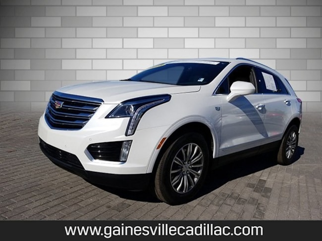 Used 2018 Cadillac XT5 Luxury SUV For Sale in Gainesville, FL