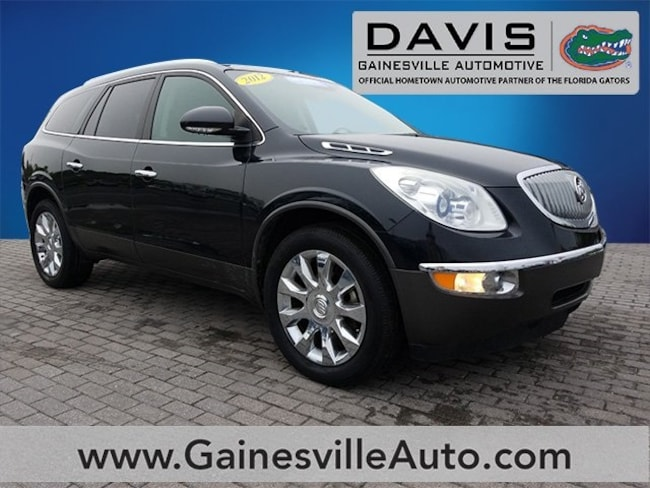 Used 2012 Buick Enclave Premium Group SUV For Sale in Gainesville, FL