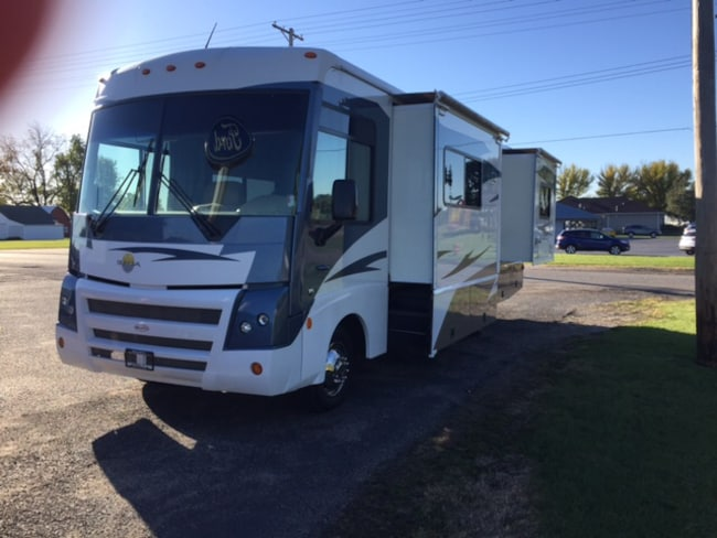 2007 Ford F-53 Motor Home Chassis Base DRW Chassis