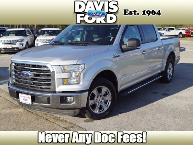 2015 Ford F-150 XLT 4x2 XLT  SuperCrew 5.5 ft. SB