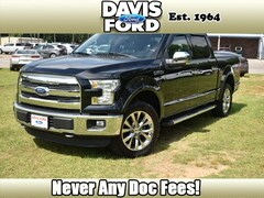 Used 2016 Ford F-150 Lariat 4x4 Lariat  SuperCrew 5.5 ft. SB for sale in Fulton, MS