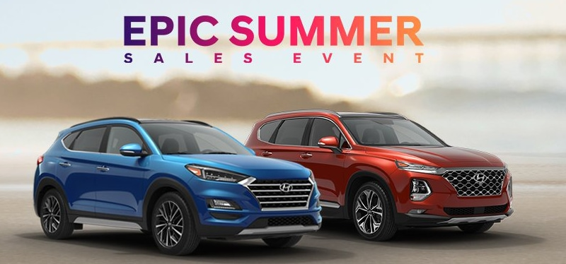 Hyundai Epic Summer Sales Event in Trenton NJ