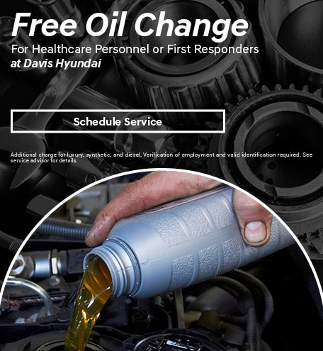 Free Oil Change for Healthcare Personnel and First Responders