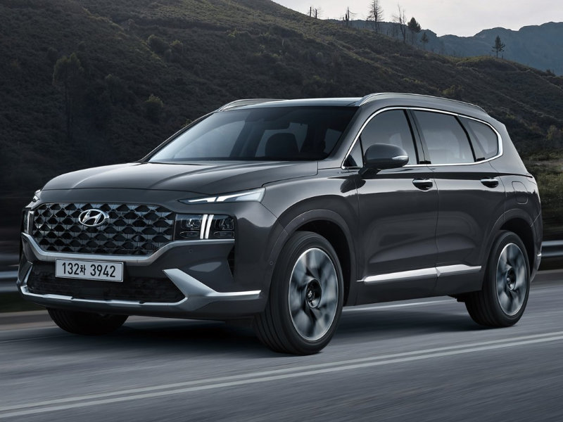 Drive the expertly designed 2021 Hyundai Santa Fe is in Ewing NJ