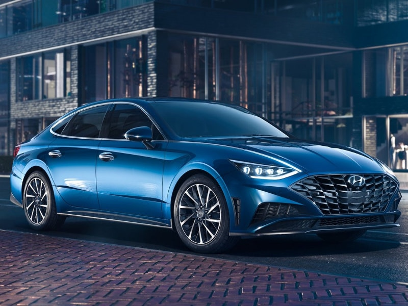 The 2021 Hyundai Sonata is a work of art near Newark NJ