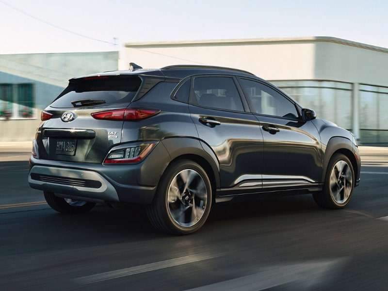 A 2022 Hyundai Kona offers a choice of engines in Ewing NJ