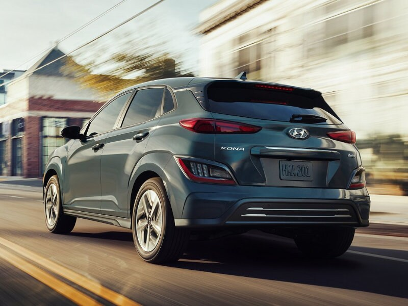 A 2022 Hyundai Kona Electric prioritizes efficiency near Lawrenceville NJ