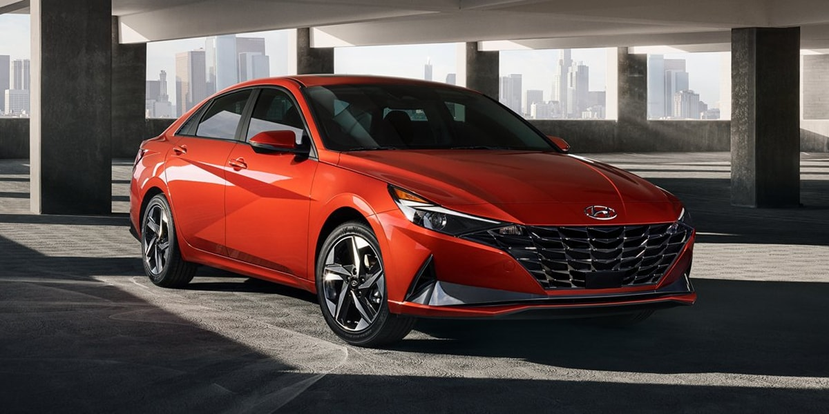 A 2021 Hyundai Elantra offers many options near Lawrenceville NJ