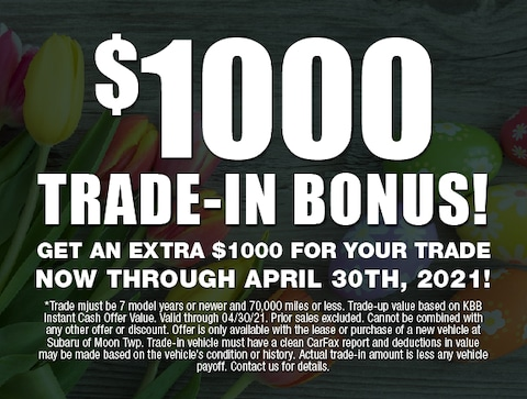 $1000 trade in bonus