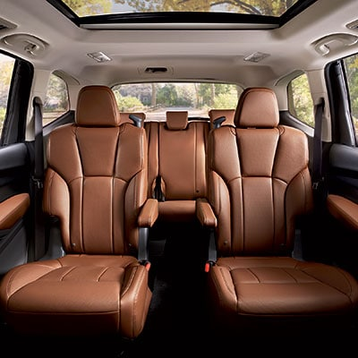 Subaru Ascent Seating