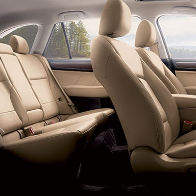 Subaru Outback Seating