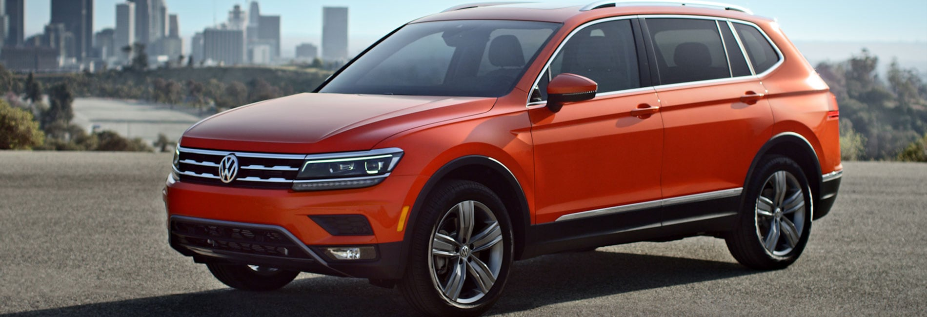 Volkswagen Tiguan Exterior Vehicle Features