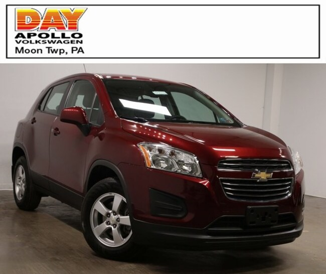 Used 2016 Chevrolet Trax Ls For Sale In Moon Township Pa