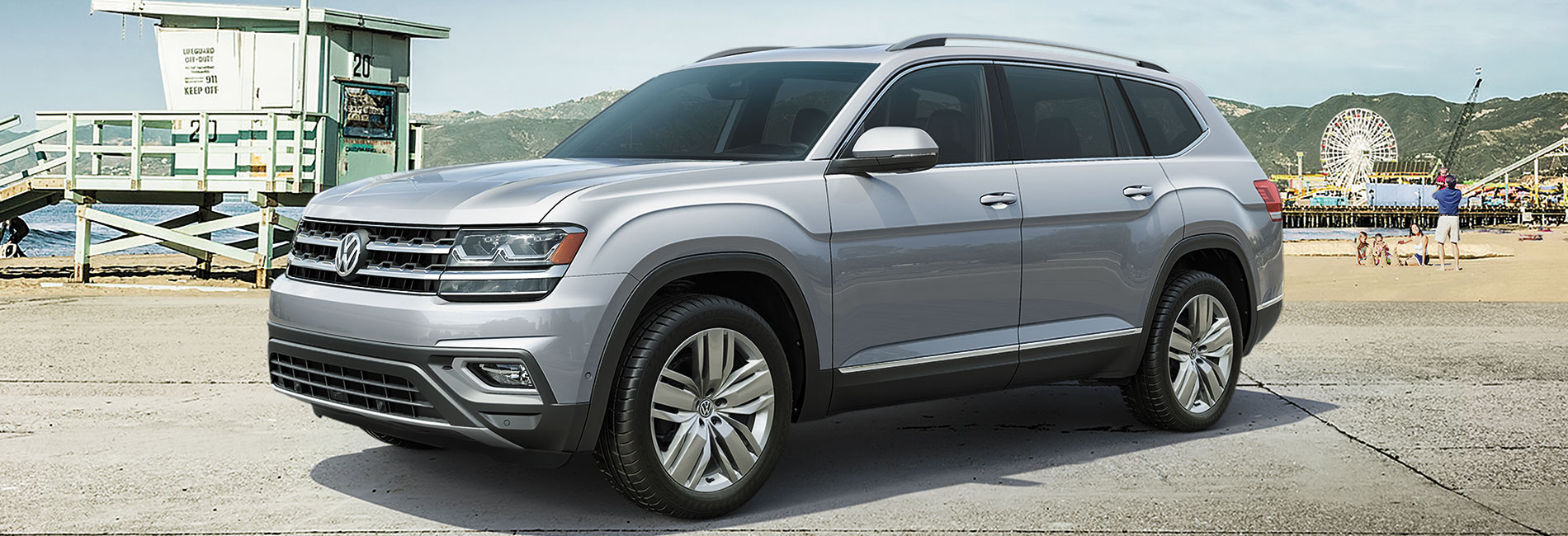 Volkswagen Atlas Exterior Vehicle Features