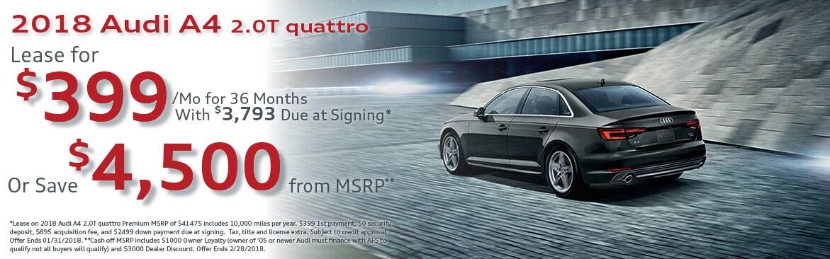 New Audi Specials Lease Deals Finance Rates Audi Rebates And - Audi car incentives