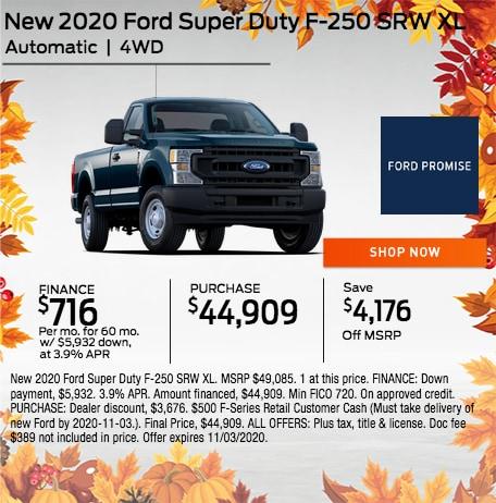 2020 Ford Super Duty F-250 SRW XL
