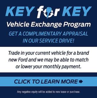 Key for Key Vehicle Exchange Program