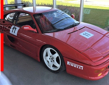 1997 Ferrari 355 Challenge Race Car Coupe