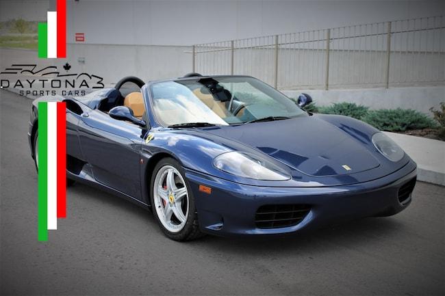 2004 Ferrari 360 Spider Convertible